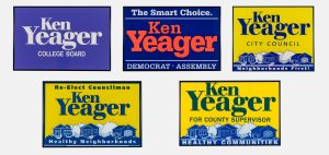 yeager campaign collage
