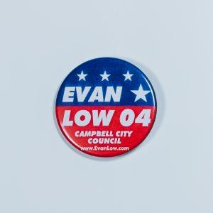 evan low city button