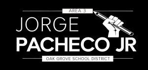 jorge pacheco jr campaign logo