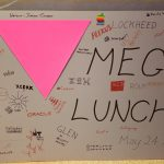 mega lunch sign 1991