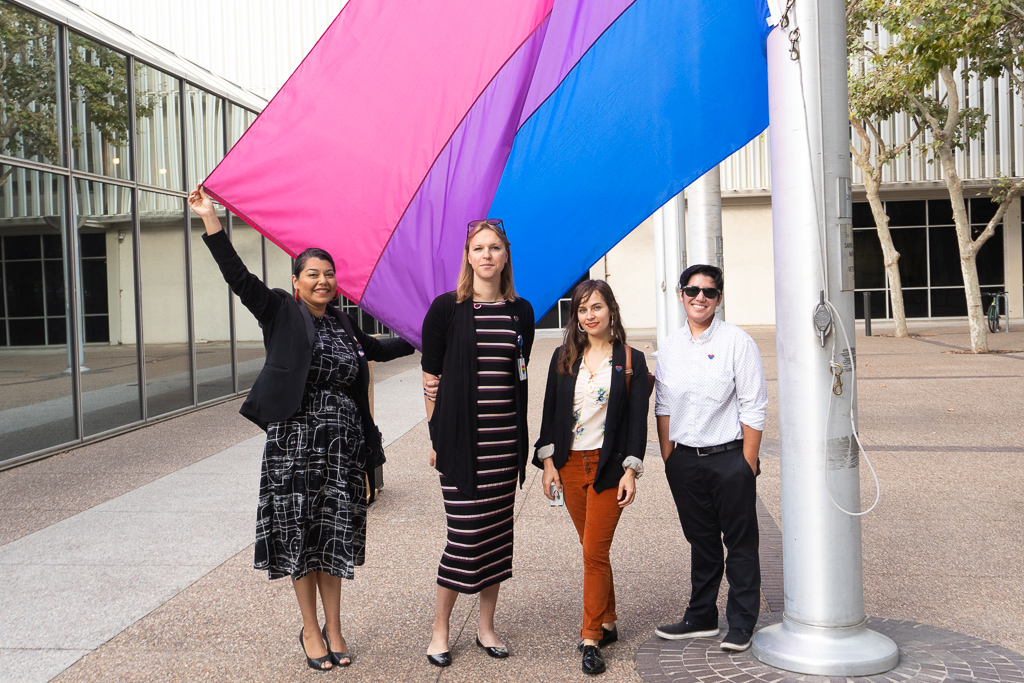 Bi Flag Raising 2019