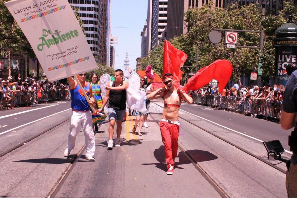 de ambiente pride march