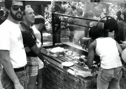 htg annual picnic 1990