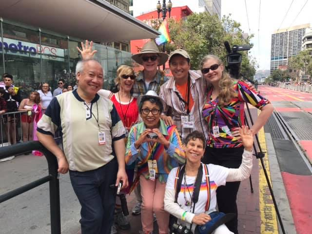 outlook video sf pride 2019 group photo
