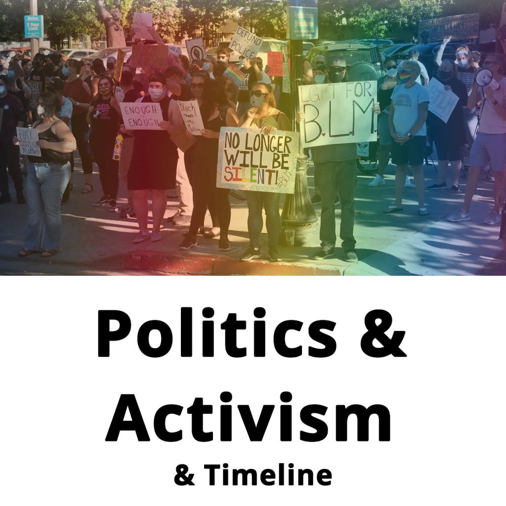 politics activism community box