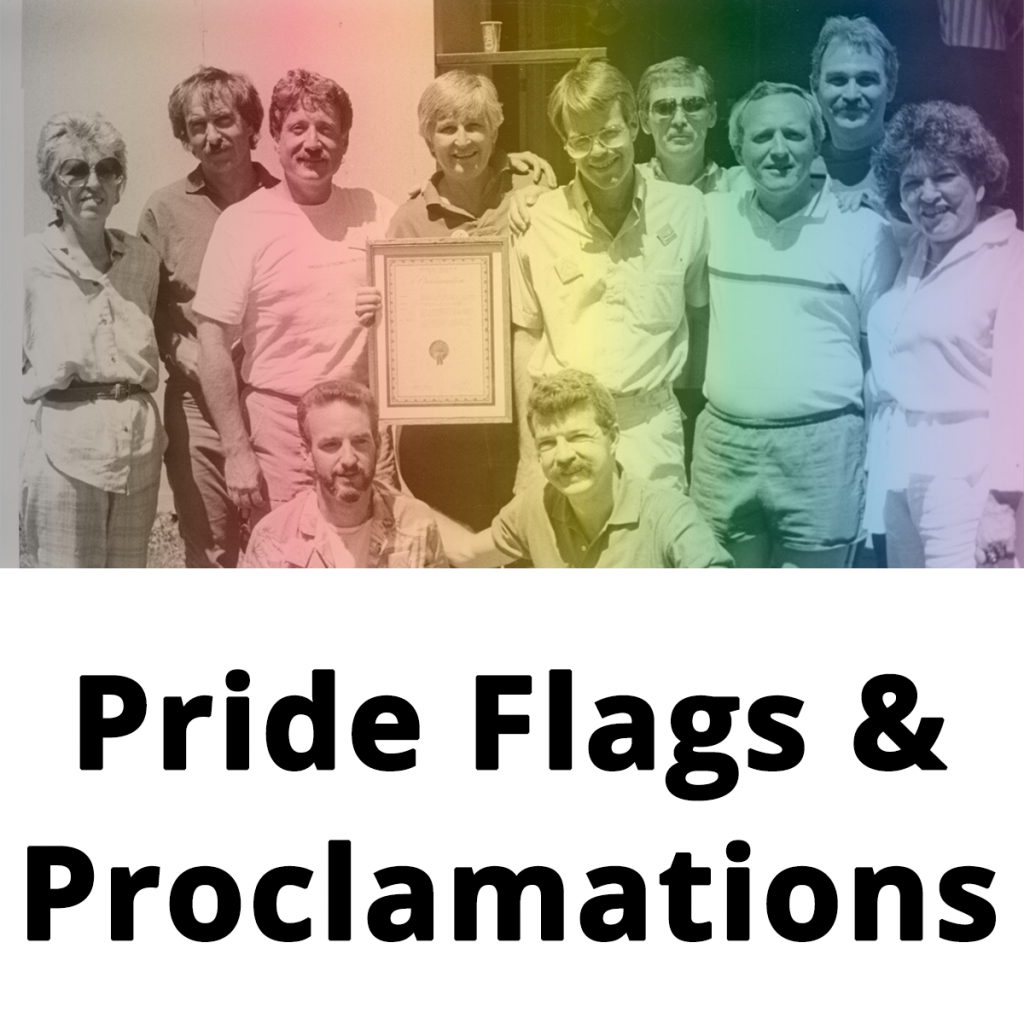 pride flags proclamations block