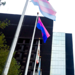 pride trans bi flag county center