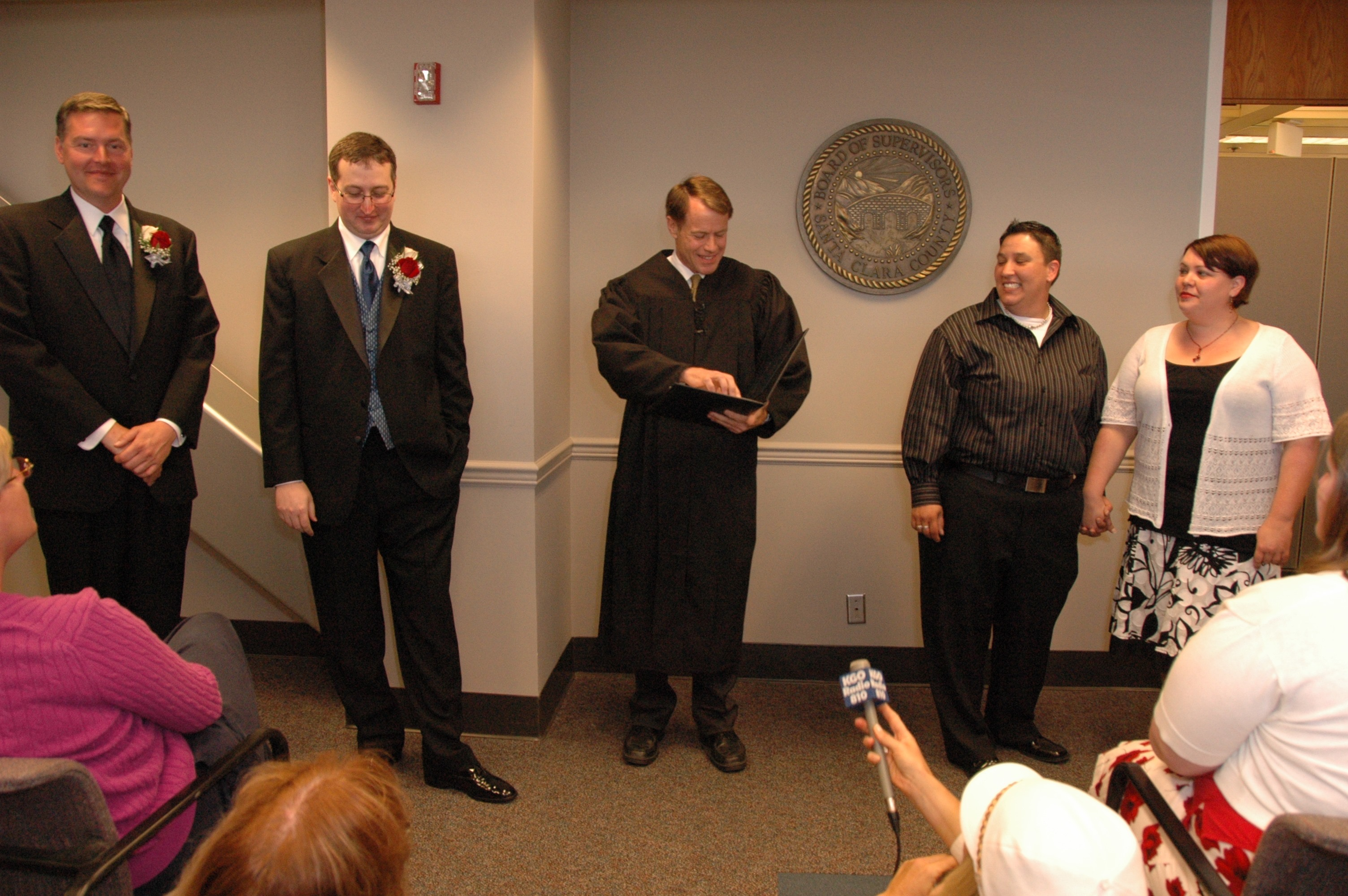 santa clara county first gay marriages