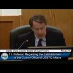 supervisor yeager proposes office lgbtq affairs