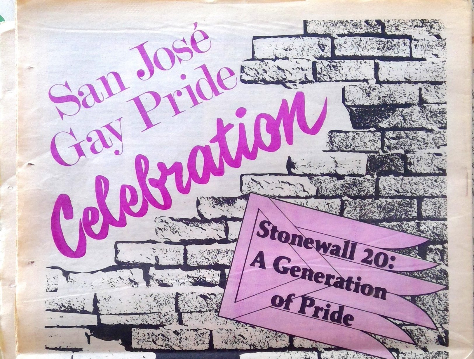 1989 san jose gay pride ad